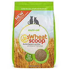 Swheat Scoop® Multi-Cat Natural Cat Litter - Clumping