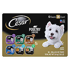 Cesar® Poultry Lover's Dog Food - 36ct