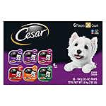 Cesar® Classics Dog Food - Variety Pack, 36ct