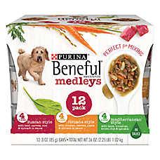 Purina® Beneful® Medleys Dog Food - Variety Pack, 12ct