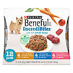 Purina® Beneful® IncrediBites Small Dog Food - Variety Pack, 12ct