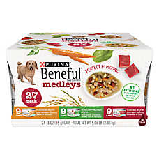 Purina® Beneful® Medleys Dog Food - Variety Pack, 27ct