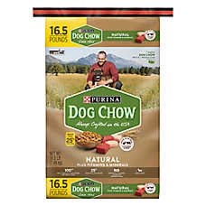 Purina® Dog Chow® Natural Dog Food - Chicken