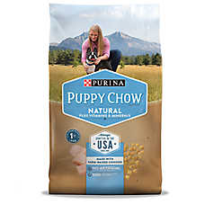 Purina® Puppy Chow Natural Puppy Food - Natural, Chicken