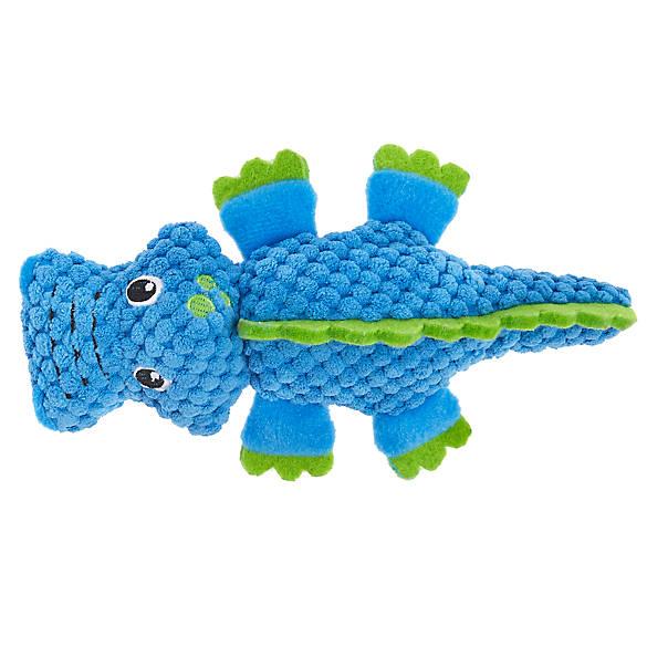 Top Paw 174 Gator Dog Toy Plush Squeaker Dog Plush Toys