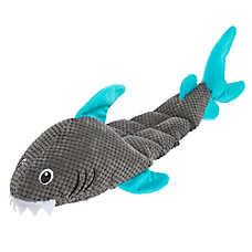 Top Paw® Shark Mat Dog Toy - Plush, Squeaker