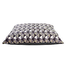 Grreat Choice® Tri-Print Pillow Dog Bed