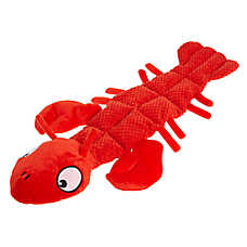Top Paw® Lobster Mat Dog Toy - Plush, Squeaker