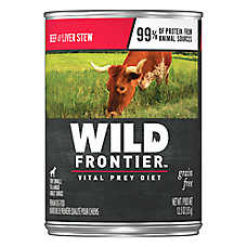 NUTRO™ Wild Frontier Adult Dog Food - Natural, Grain Free, Large Prey Recipe