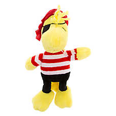 Peanuts® Woodstock Pirate Dog Toy - Plush, Squeaker