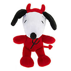 Peanuts® Halloween Snoopy Devil Dog Toy - Plush, Squeaker