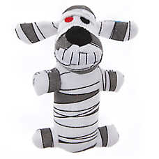 BOBO™ Halloween Mummy Dog Toy - Plush, Squeaker