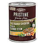 Castor & Pollux PRISTINE™ Grain Free Dog Food - Free-Range Chicken, Pea & Carrot Stew