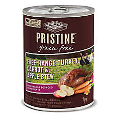 Castor & Pollux PRISTINE™ Grain Free Dog Food - Free-Range Turkey, Carrot & Apple
