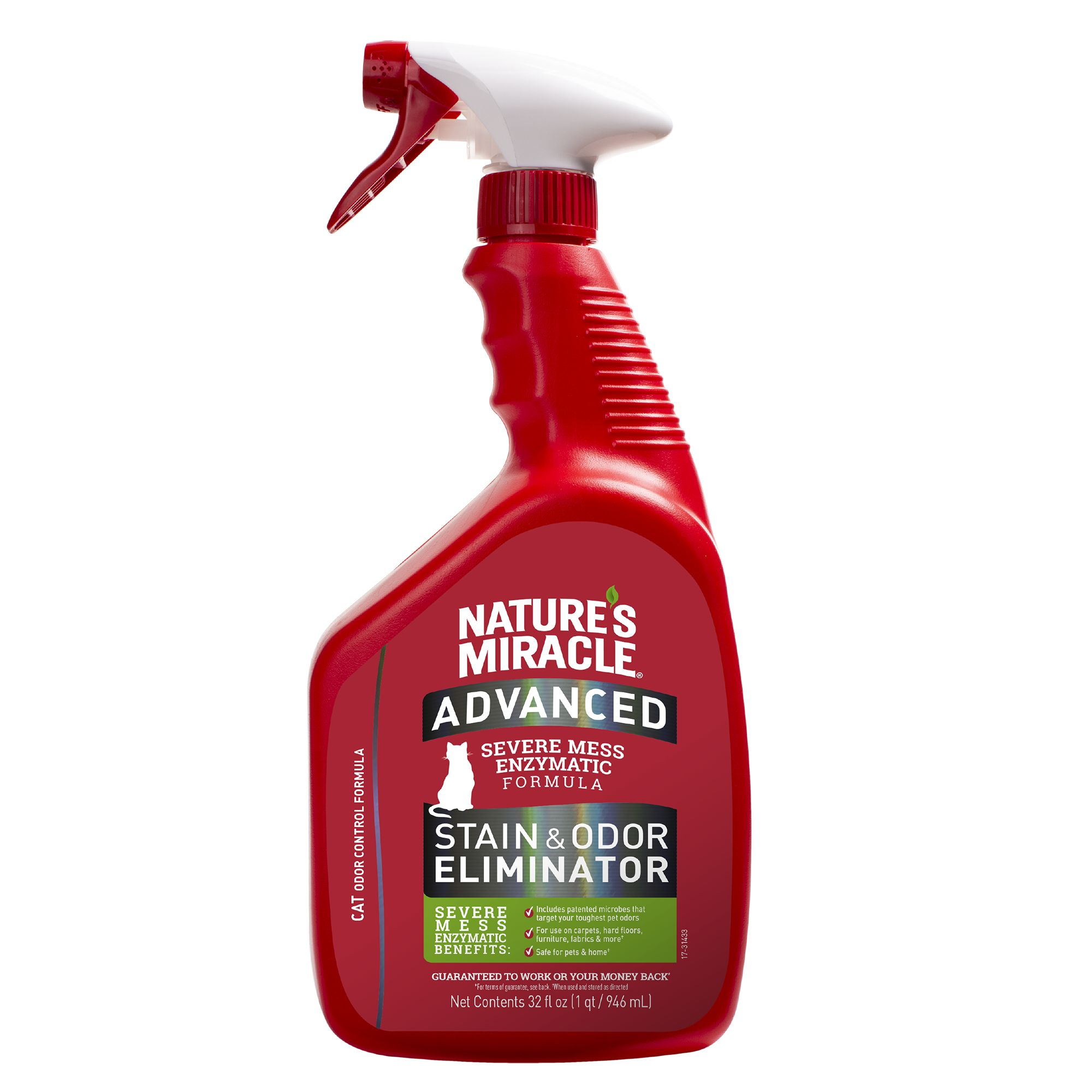 Nature S Miracle Just For Cats Advanced Stain Odor Remover