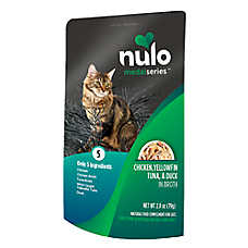 Nulo MedalSeries Cat Food Topper - Natural, Chicken, Yellowfin Tuna & Duck