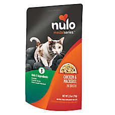 Nulo MedalSeries Cat Food Topper - Natural, Chicken & Mackerel