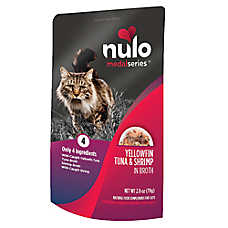 Nulo MedalSeries Cat Food Topper - Natural, Yellowfin Tuna & Shrimp