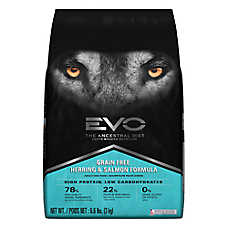 EVO Adult Dog Food - Grain Free, Gluten Free, Herring & Salmon