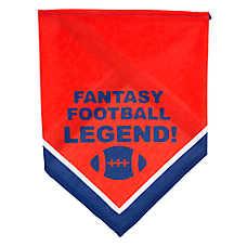 "Top Paw® ""Fantasy Football Legend"" Dog Bandana"