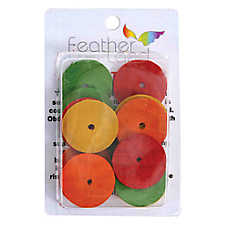 All Living Things® Wooden Discs Bird Toy