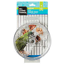 All Living Things® Forage Wheel Bird Toy