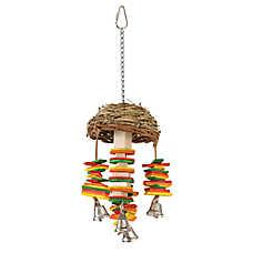 All Living Things® Hanging Basket Bird Toy