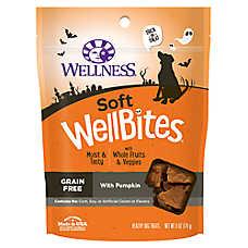 Wellness® Soft Wellbites Halloween Dog Treat - Grain Free, Pumpkin