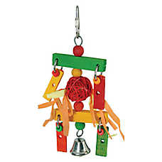 All Living Things® Wooden Wind Chime Bird Toy