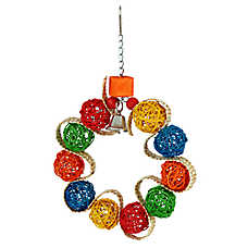 All Living Things® Willow Wreath Bird Toy