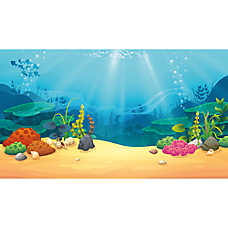 Top Fin C Treasure Reversible Aquarium Background