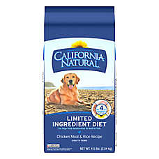California Natural Limited Ingredient Diet Dog Food - Natural, Chicken Meal & Rice