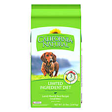California Natural Limited Ingredient Diet Small Bites Dog Food - Natural, Lamb Meal & Rice