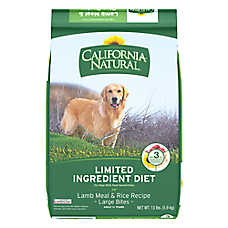 California Natural Limited Ingredient Diet Large Bites Dog Food - Natural, Lamb Meal & Rice