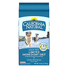 California Natural Limited Ingredient Diet Dog Food - Natural, Grain Free, Chicken Meal