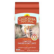 California Natural Limited Ingredient Diet Dog Food - Natural, Grain Free, Kangaroo & Red Lentils