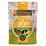 Simply Nourish™ Chewy Jerky Bites Dog Treat - Natural, Grain Free, Duck