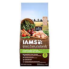 Iams® Grain Free Naturals™ Adult Dog Food - Natural, Grain Free, Chicken & Pea