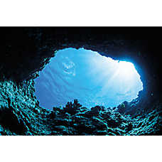 Top Fin® Cave & Shipwreck Reversible Aquarium Background