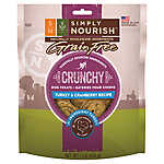 Simply Nourish™ Crunchy Dog Treat - Natural, Grain Free, Turkey & Cranberry