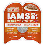 Iams® Perfect Portions Healthy Adult Cat Food - Grain Free, Chicken, Pate