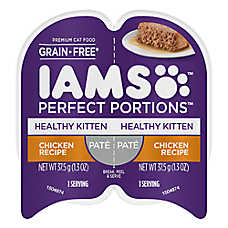 save 5 ₵ ea. 	when you buy 12+ Iams® wet cat food, 2.6 oz. tubs