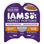 Iams® Perfect Portions Healthy Kitten Food - Grain Free, Chicken, Pate