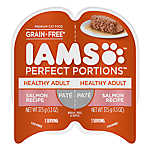 Iams® Perfect Portions Healthy Adult Cat Food - Grain Free, Salmon, Pate