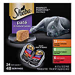 SHEBA® Perfect Portions Cat Food - Pate, Multi-Pack, 24ct