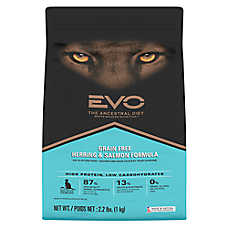 EVO Cat & Kitten Food - Grain Free, Gluten Free, Herring & Salmon
