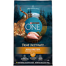 Purina ONE® True Instinct Cat Food - Natural, Grain Free, Chicken