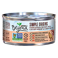 Purina® Beyond Simple Origins Cat Food - Natural, Grain Free, Chicken, Shrimp & Carrot