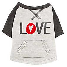 """ED Ellen DeGeneres """"Love"""" Dog Sweatshirt"""