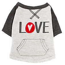 "ED Ellen DeGeneres ""Love"" Dog Sweatshirt"